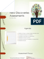 new discoveries assessments