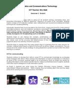 Grade 6 Semester 2 Overview for Blog 2014