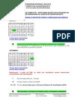 Calendario Escolar Completo Pos Paralisacao 2014