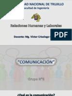 La Comunicación - Relaciones Humanas y Laborales