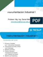Contenidos de Instrumentacion Industrial I