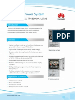 Huawei Indoor Power System TP48300-A-N07A3,L07A3 Datasheet