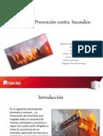 Sistema de Prevencion de Incendios.