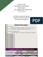 Aula 5 - Esgotos Introdução Ao Sistemas de Tratamento de Esgotos 05-11-2014