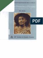 María Rostworowski - Doña Francisca Pizarro- Una Ilustre Mestiza. 1534-1598