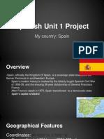 spanish unit project junaid sarfaraz