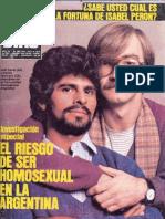 El riesgo de ser homosexual en Argentina- 7 días- Jauregui - Soria