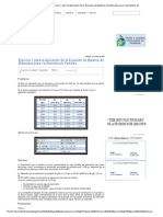 Industria Petrolera_ Ejercicio 1 para la Aplicación de la Ecuación de Balance de Materiales para Yacimientos de Petróleo.doc