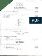 Cape Unit 1 Past Papers 2000 math
