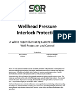 Wellhead Pressure Interlock Protection Marketing