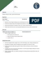 english 360 resume