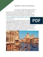 Las 10 Ciudades Más Turísticas de Italia
