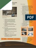 Brochure Hydrocore Lab (Dec 2014)