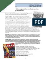 Latin American Intermediate Topics