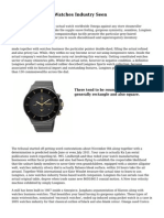 Fast Strategies In Watches Industry Seen
