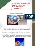 Sistemas de Informacion, Organización y Estrategias