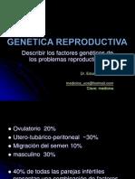 GENETICA REPRODUCTIVA