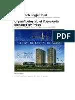 Sahid Rich Jogja Hotel