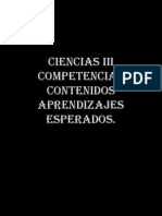 Ciencias III Contenidos y Aprendizajes