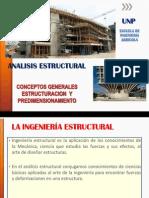 Estructuracion y Predimensionamiento Expo Ae-II