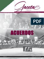 Acuerdos AGP-Gobierno federal