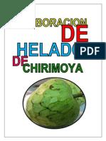 Helado de Chcirimoya