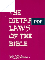 Vic Lockman The Dietary Laws Of The Bible
