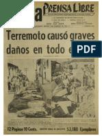 Terremoto 1976 Guatemala Prensa Libre