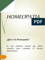 HOMEOPATIA Para Charla