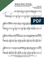 Pokemon Easy Piano
