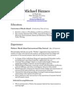 Port Resume