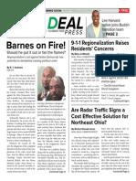 The Real Deal Press • DEC. 2014 • Vol. 1 # 9