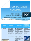 defects in injection moulding