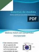Bobina Móvil Con Convertidor Incorporado