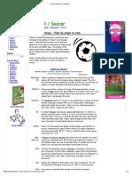 Soccer History Timeline