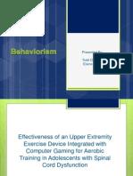 behaviorism presentation