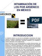 Contaminación de Suelos Por Arsénico