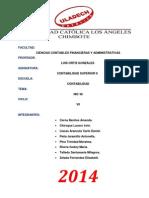 Informe NIC 36