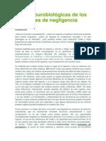 Bases Neurobiológicas de Los Síndromes de Negligencia Espacial