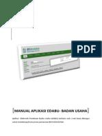 User Manual Aplikasi EDaBU