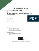 LENGUAJE ENSAMBLADOR Y PROGRAMACIÓN PARA IBM® PC Y COMPATIBLES