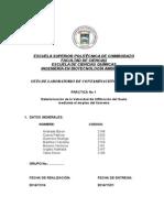 CONTAMINACIÓN DE SUELOS LISÍMETRO