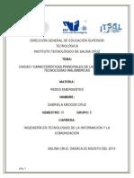 INVESTIGACION 2características principales de las diferentes tecnologías inalámbricas.pdf