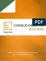Consejo Directivo IAPEM 2013 2016