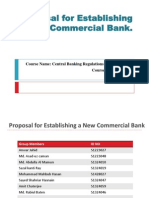 ESTABLISH A NEW COMMERCIAL BANK.ppt