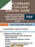 celiac presentation