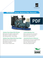 Natural Gas Gensets