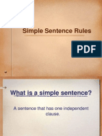 Simple Sentence Overhead