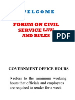 Government Office Hours