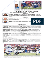BCSP NFL ProFile for December 9, 2014